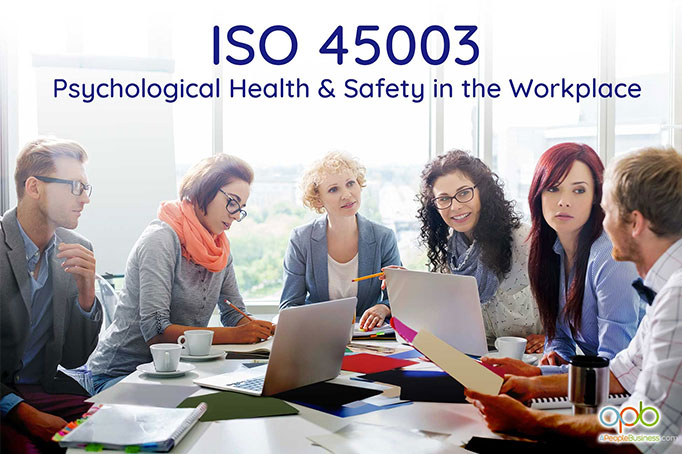Psychological health and safety at work ISO 45003