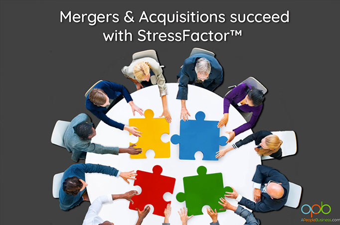 mergers and acquisitionssucceed with stressfactor software